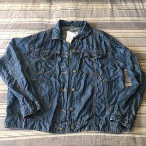 light weight soft  jean jacket inspired jacket.